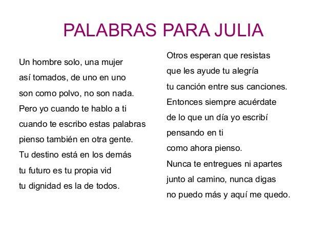 Los viernes poesía. Hoy: Palabras para Julia, de José Agustín Goytisolo
