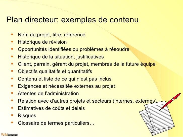 Gp 04 le plan directeur for Plan directeur gratuit