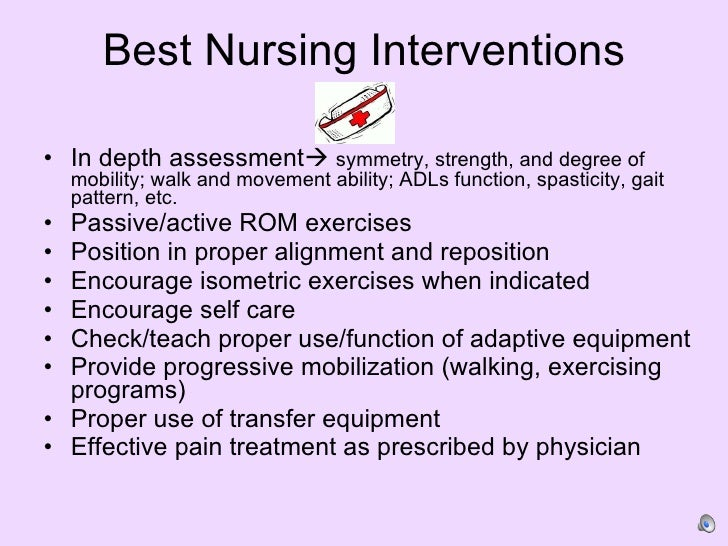 Impaired Mobility Patient