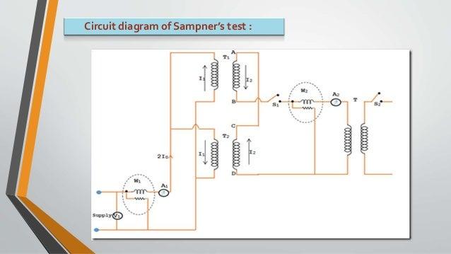 sumpners test of transformers residential electrical wiring diagrams circuit diagram of sampner's test