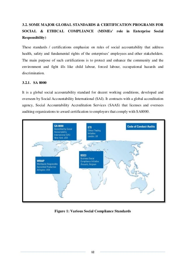 social accountability 8000 standard pdf