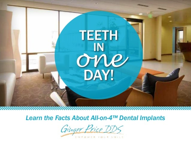 Learn the Facts About All-on-4™ Dental Implants