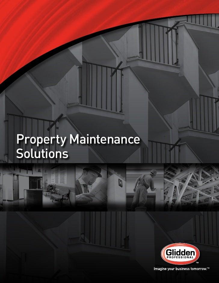 Glidden Professional Property Maintenance Solutions