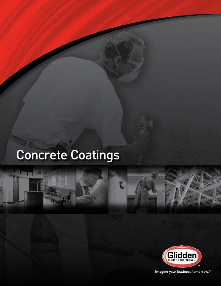 Concrete Coatings