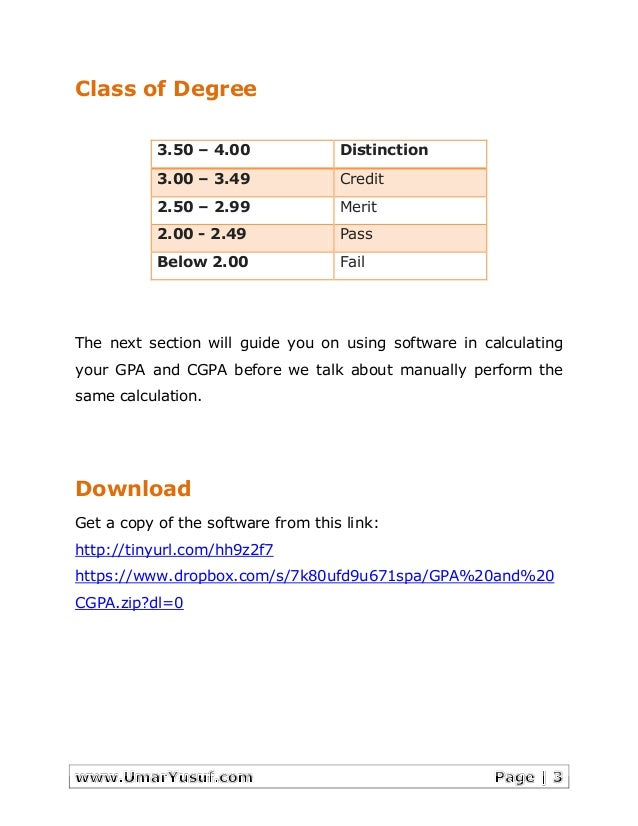 Gpa and cgpa software how to calculate gpa and cgpa 3 ccuart Choice Image