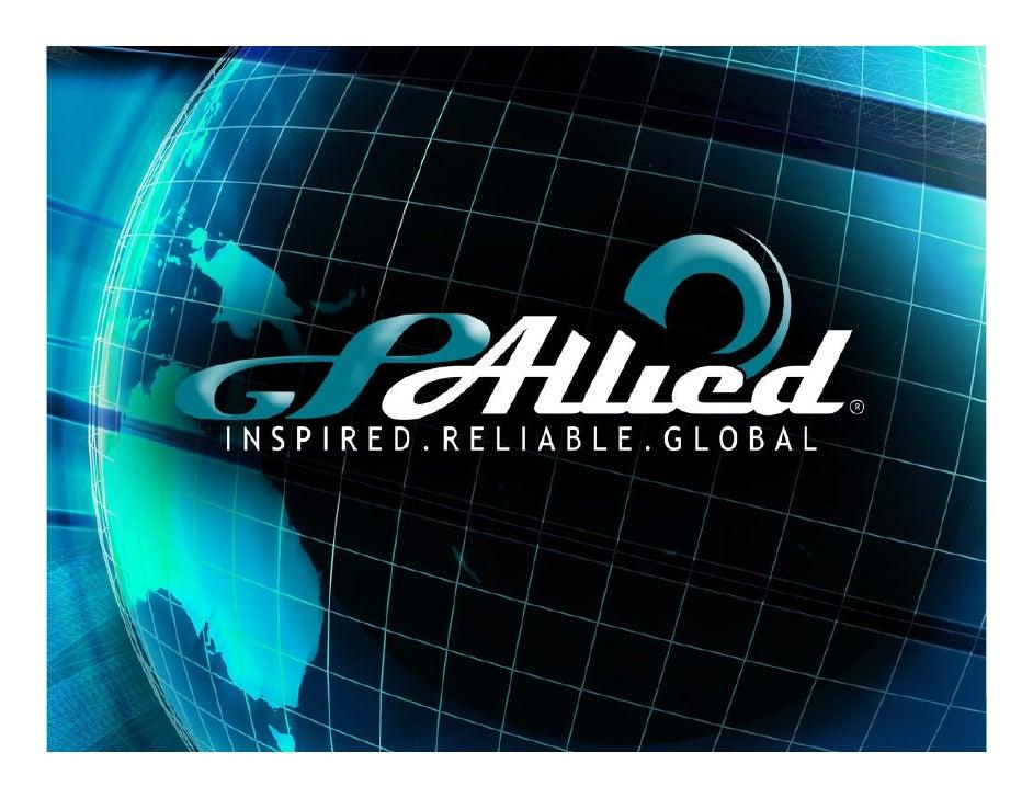 Copyright 2009 GPAllied, LLC                GPAllied,