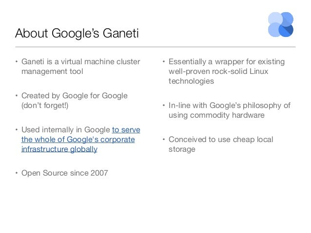 Comparing Iaas Vmware Vs Openstack Vs Google S Ganeti