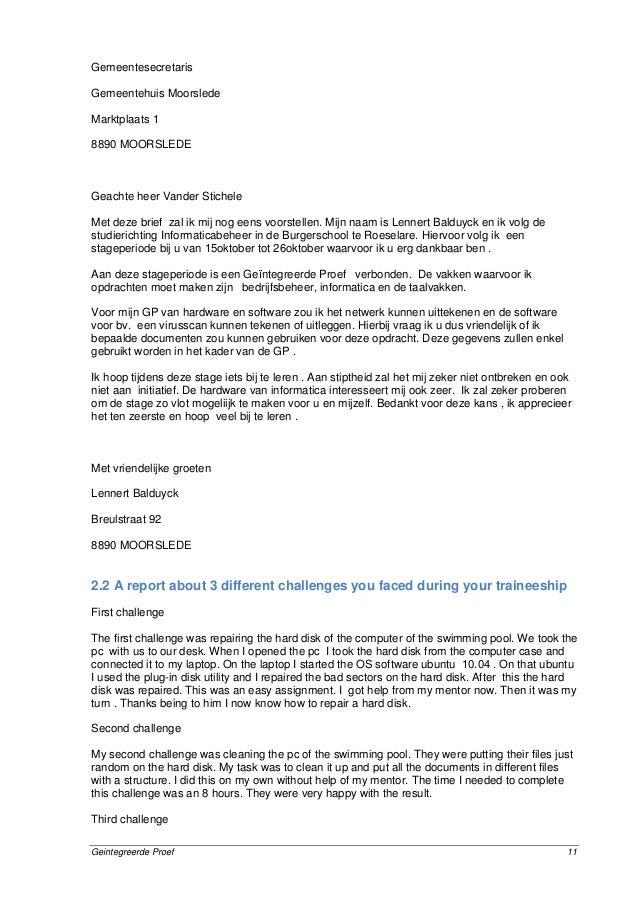 voorbeeldbrief voorstellen bedrijf Gp bundel afgewerkt voorbeeldbrief voorstellen bedrijf