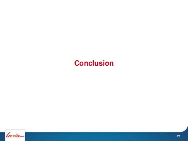 Conclusion 21