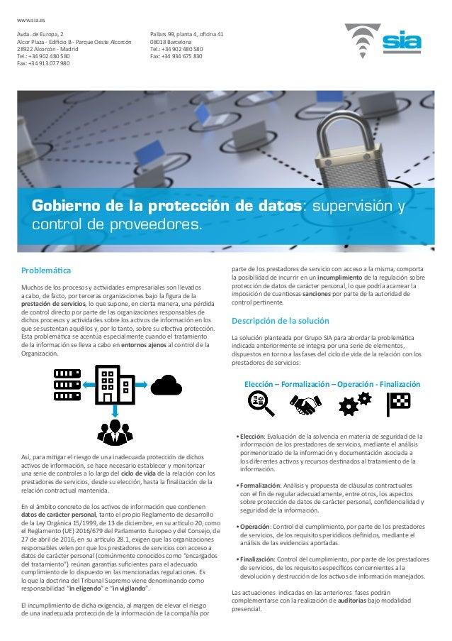 Problemática Muchos de los procesos y actividades empresariales son llevados a cabo, de facto, por terceras organizaciones...