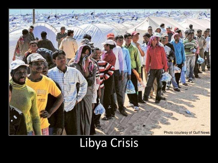 Photo courtesy of Gulf News<br />Libya Crisis<br />