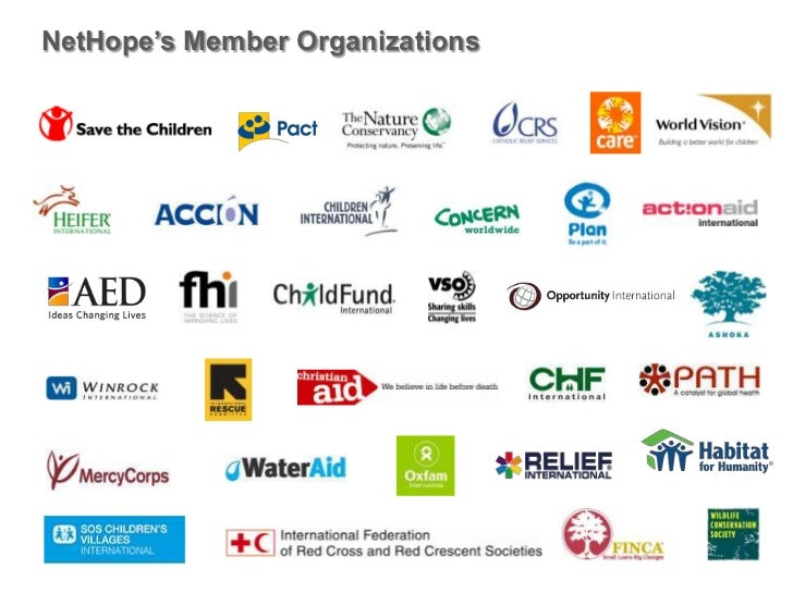 NetHope's Member Organizations <br />