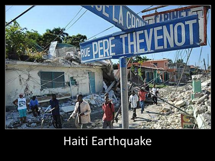 Haiti Earthquake<br />
