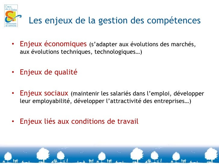 La gestion des compétences, c'est quoi?<br />Identification<br />Identification<br />Leurs missions dans l'entreprise<br /...