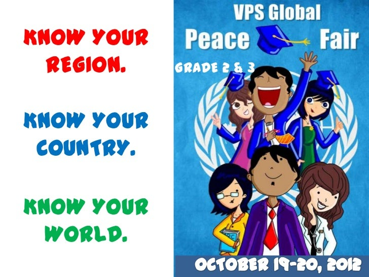 KNOW YOUR  REGION.   GRADE 2 & 3KNOW YOUR COUNTRY.KNOW YOUR  WORLD.