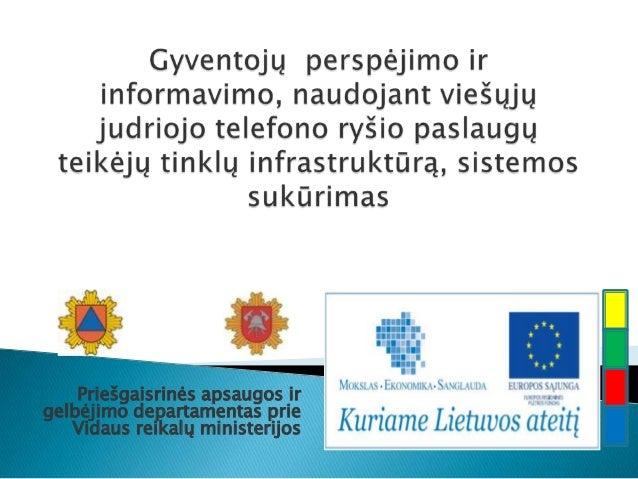 Priešgaisrinės apsaugos irgelbėjimo departamentas prieVidaus reikalų ministerijos