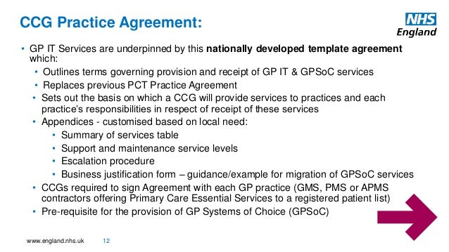 Gpit workshops regional heads dt gp it approved accessable for Apms contract template