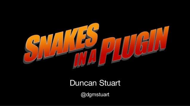 Duncan Stuart @dgmstuart