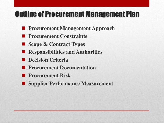the six major project procurement processes Once the six major procurement processes had been identified,  how should project teams be configured for different types of acquisitions.