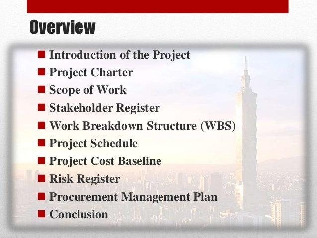 Project Procurement Management Taipei101