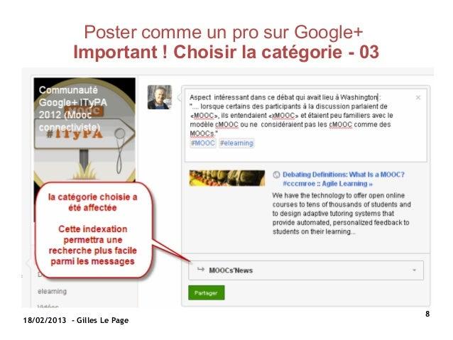 Poster comme un pro sur Google+            Important!Choisirlacatégorie-03                                          ...