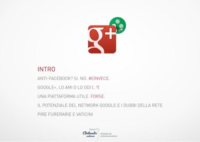 Google Plus Guida Completa Slide 3