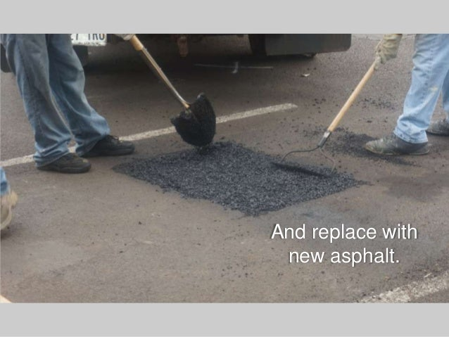 Asphalt repair maintenance do it yourself vs hiring a contractor and replace with new asphalt solutioingenieria Images
