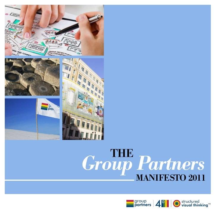 THEGroup Partners         MANIFESTO 2011