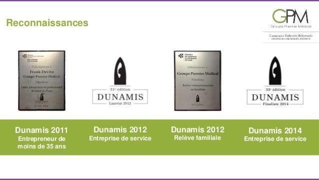 Dunamis 2012  Entreprise de service  Reconnaissances  Dunamis 2014  Entreprise de service  Dunamis 2011  Entrepreneur de  ...