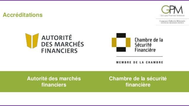 Autorité des marchés  financiers  Chambre de la sécurité  financière  Accréditations