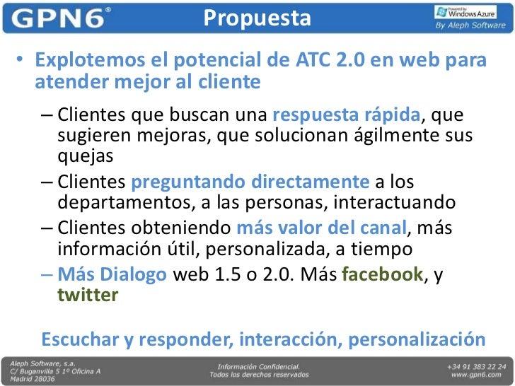 Gpn6 Azure Atención al Cliente 2.0  Slide 3