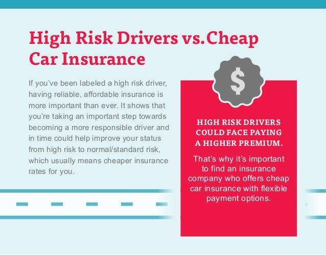 I M A High Risk Driver What Do I Do
