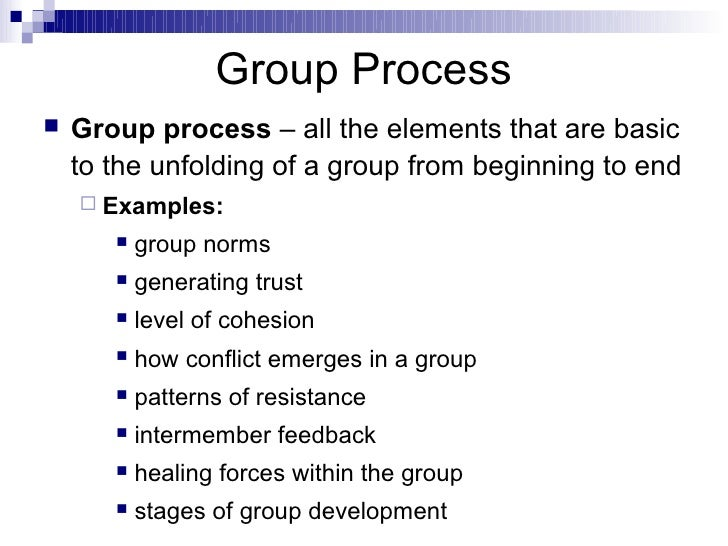 essay on process of group work Dynamics of group work - professional writers, top-notch services, instant delivery and other advantages can be found in our academy writing help begin working on.