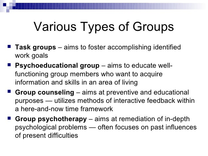 Which Type of Therapeutic Group is Right for You?