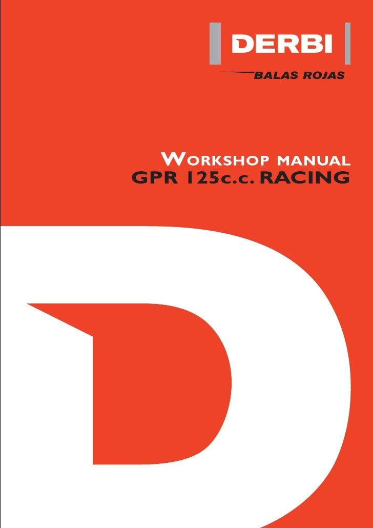 gpr125 service manual rh slideshare net