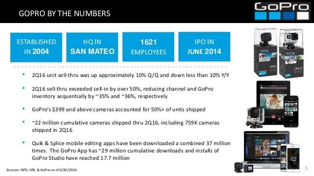 Gopro Investor Presentation - August 2016