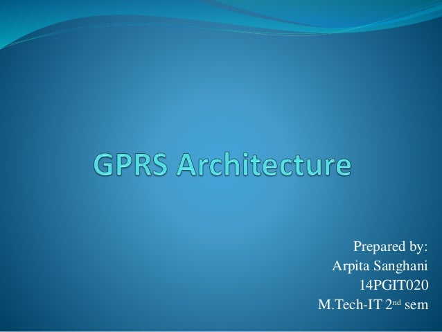 Prepared by: Arpita Sanghani 14PGIT020 M.Tech-IT 2nd sem