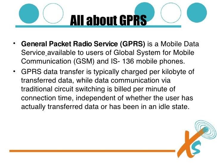 GPRS Radio launch Slide 2