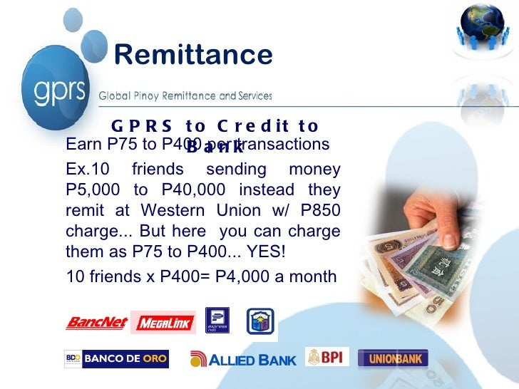 GLOBAL PINOY REMITTANCE AND SERVICES INC 2012