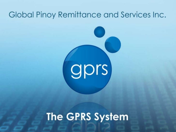 GPRS is a company engaged in                          the remittance and consumer                          services indust...