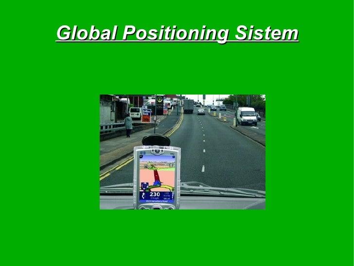 Global Positioning Sistem
