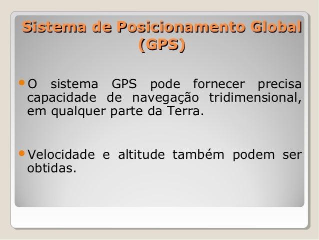 GPS - Global Positioning System Slide 2