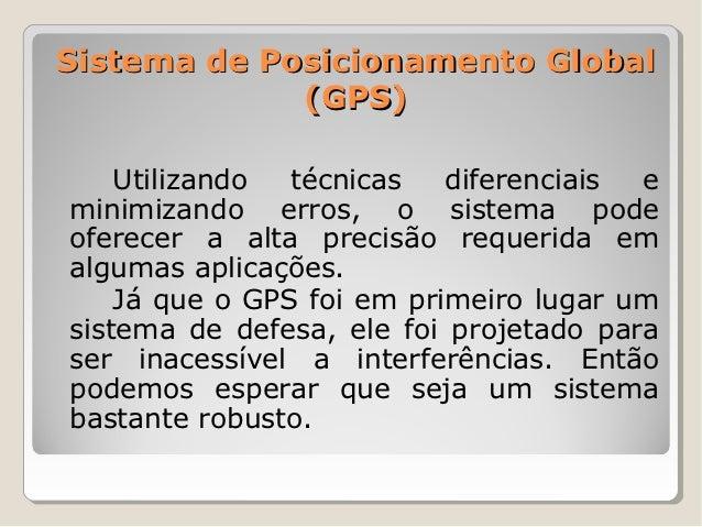 GPS - Global Positioning System Slide 3