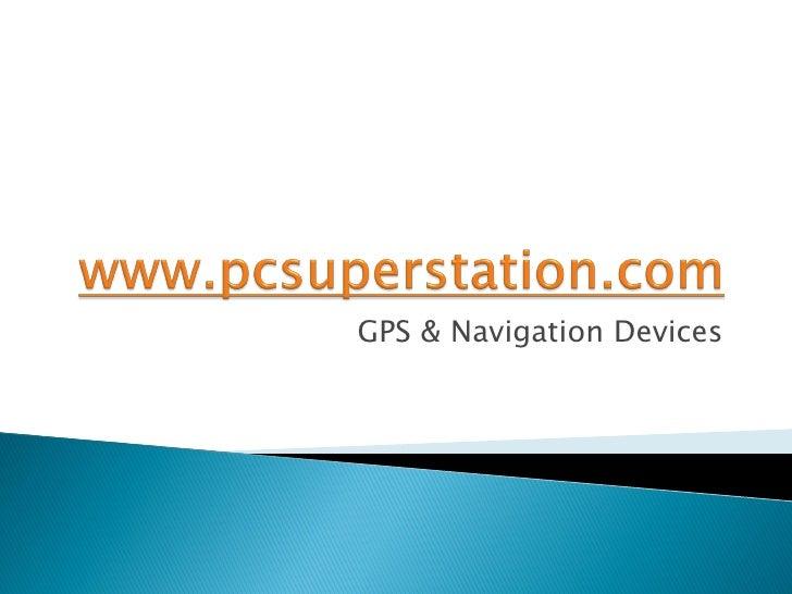 GPS & Navigation Devices