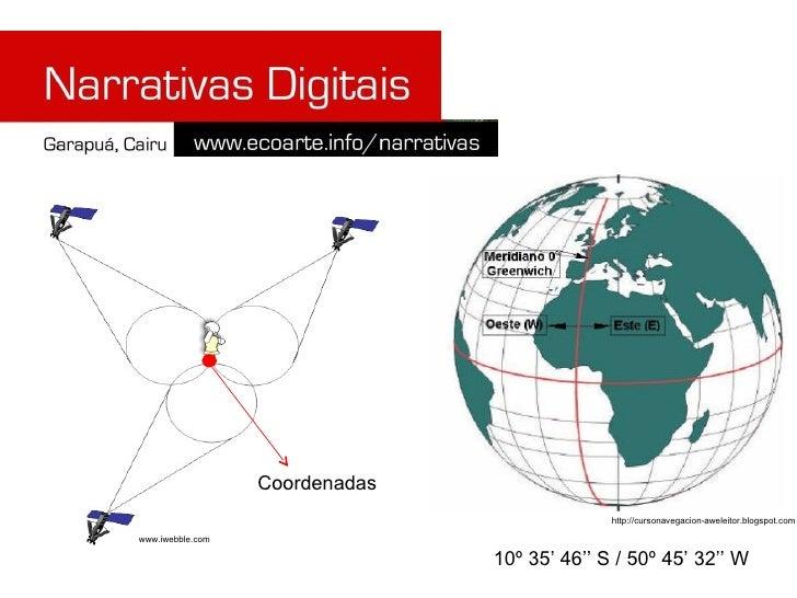 10º 35' 46'' S / 50º 45' 32'' W www.iwebble.com http://cursonavegacion-aweleitor.blogspot.com Coordenadas