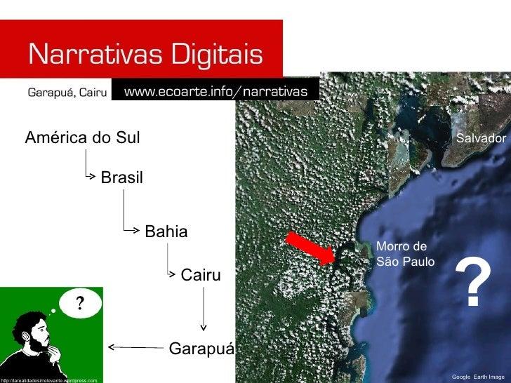 Salvador Morro de São Paulo ? América do Sul Brasil Bahia Cairu Garapuá Google  Earth Image http://larealidadesirrelevante...