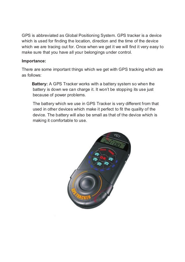 Global Positioning System - History of Global Positioning System