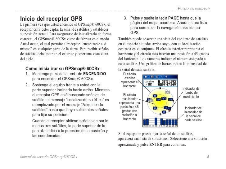 gps 60 csx garmin manual de usuario rh es slideshare net manual de uso del gps garmin etrex manual de uso del gps garmin etrex vista hcx