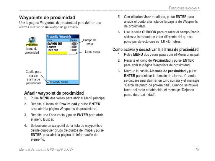 gps 60 csx garmin manual de usuario rh es slideshare net manual de instrucciones gps garmin nuvi 205w en español manual de instrucciones gps garmin etrex 20