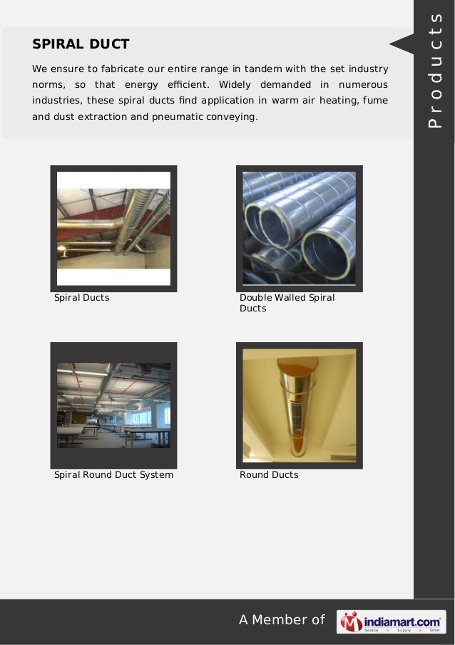 GP Spira Duct Private Limited, Hyderabad, Spiral Ducts Slide 3